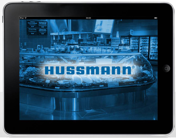 Hussman Tablet App Main Page