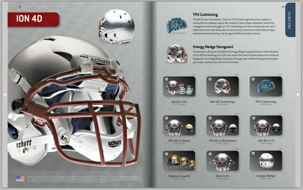 Schutt Sports catalog product page